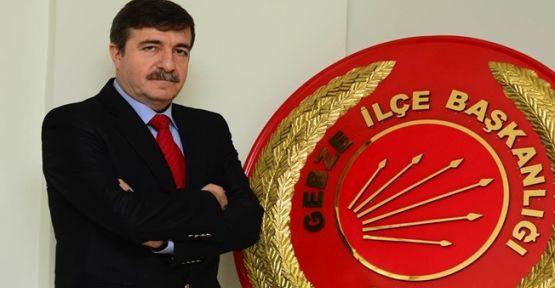 Cumhuriyet Halk Partisi'nin Gebze belediye başkan adayı Recep Dursun