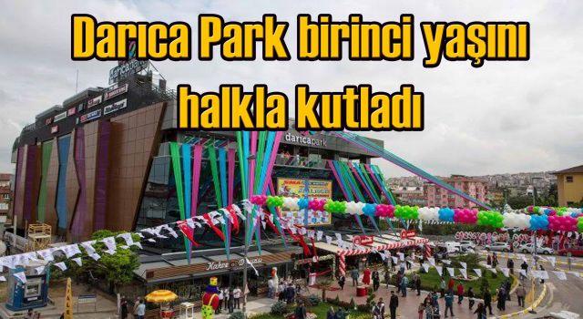Darıca Park birinci yaşını halkla kutladı