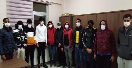 Darıca'da bir evde 13 kaçak göçmen çıktı!