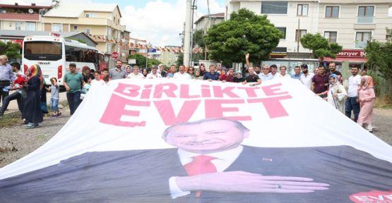 Darıca'da Erdoğan Sevgisi