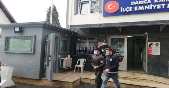 Darıca'da hırsızlık yapan zanlı İstanbul'da yakalandı!