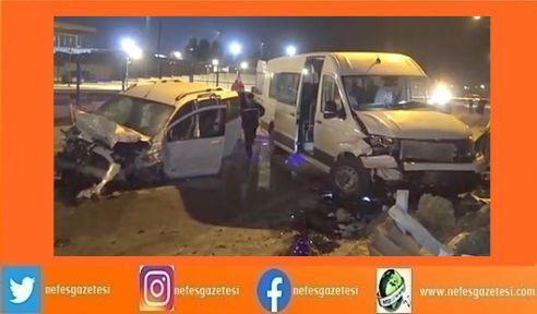 Darıca'da meydana gelen kazada 11 kişi yaralandı