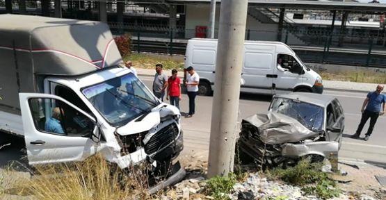 Darıca'da meydana gelen kazada 4 kişi yaralandı