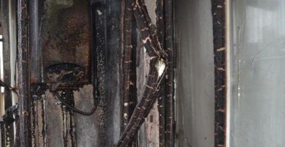 Darıca'da Patlayan Kombi Yangına Neden Oldu