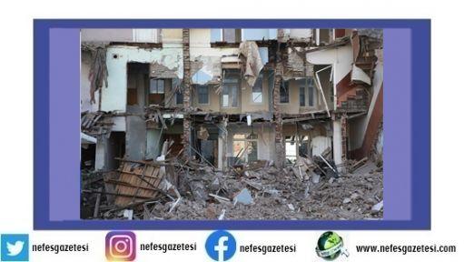 Depremde can kaybı 40'a yükseldi