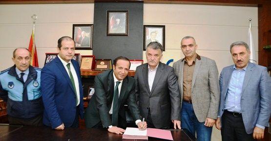 Dilovası Belediyesi'nde Sosyal Denge Sözleşmesi Yenilendi