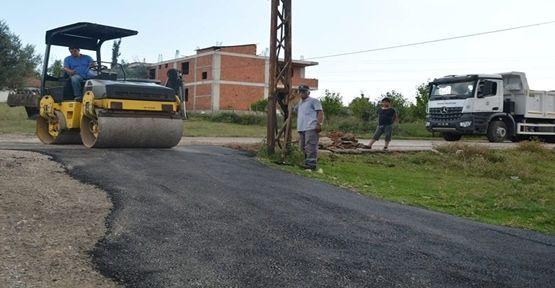 Dilovası Belediyesinden Alt Yapısı biten Mahalleye asfalt