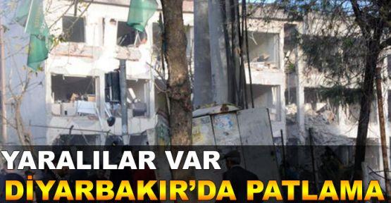 Diyarbakır'da patlama! Yaklaşık 30 yaralı