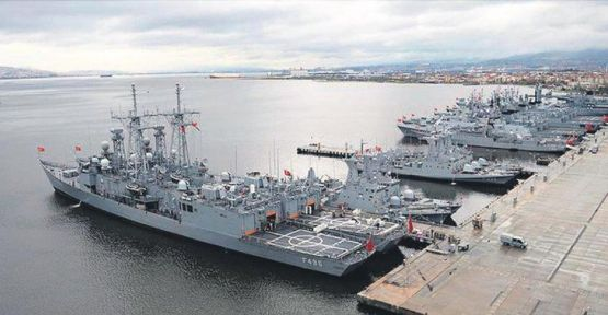 Donanma komutanlığında tayinler çıktı