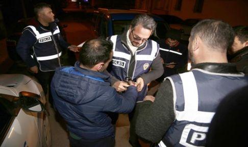 Düzenlenen operasyonlarda aranan 30 kişi yakalandı!