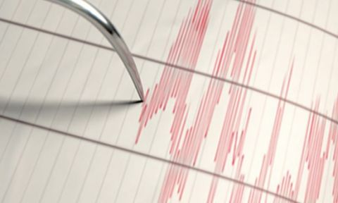 Ege denizinde korkutan deprem !