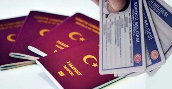 Ehliyet ve pasaport ücretlerine zam yapıldı!