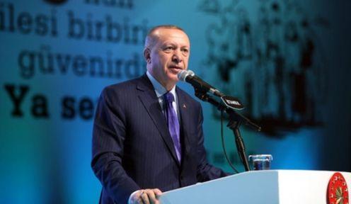 """Erdoğan""""SÖMÜRÜ DÜZENİNİ ADALETLE DEĞİŞTİREN İSLAM'DIR"""""""