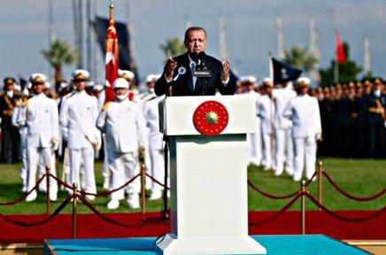 """Erdoğan""""Türk Ordusu dosta güven, düşmana korku veren güce sahiptir"""""""