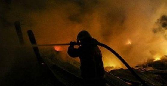 Fabrikada çıkan yangın korkuttu!