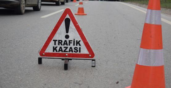 Feci kazada 2 kişi öldü 13 kişi yaralandı