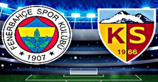 Fenerbahçe Kayseri'den Eliboş Döndü