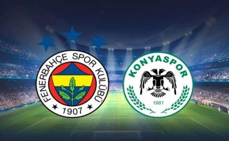 Fenerbahçe - Konyaspor maçı ne zaman ? | Hangi kanalda ?
