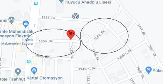 Flaş haber:Gebze'de bir sokak daha karantinaya alındı!
