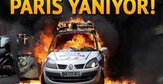 Fransa Yanıyor...Çatışmaları Canlı İzle