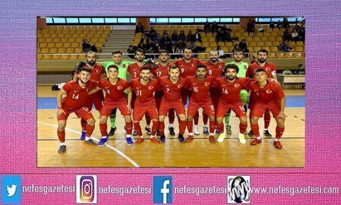 Futsal Milli Takımı, Türkmenistan'ı 4-3 yendi