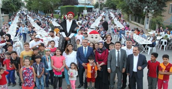 Gaziler'de Birlik ve Beraberlik İftarı