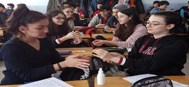 Gebze Anadolu Lisesi Corona Virüsü salgınına karşı tedbirlerini arttırdı