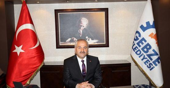 Gebze Belediye Başkanı Büyükgöz görevi devraldı