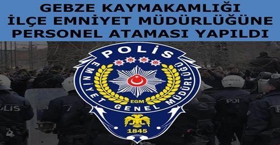 Gebze Emniyetine 71 yeni polis memuru geldi