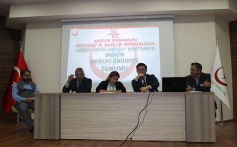 Gebze fatih devlet hastanesi durum değerlendirmesi yaptı