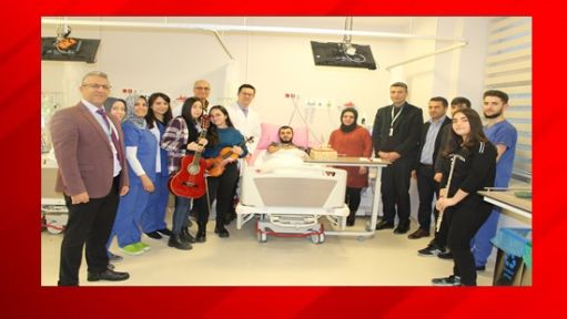 Gebze Fatih Devlet Hastanesinde Sürpriz Doğum Günü Kutlaması