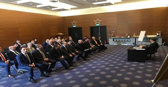 Gebze İlçe İdare Şube Başkanları Toplantısı Yapıldı