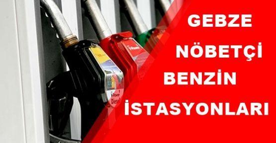 Gebze nöbetçi benzin istasyonları ?