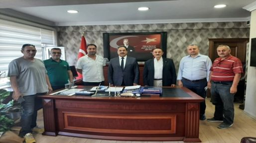 Gebze Trabzonlular Derneği protokol ziyaretlerine devam ediyor