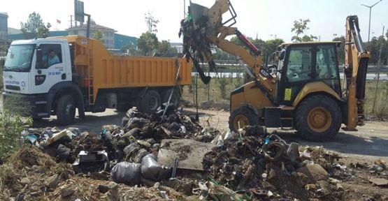 Gebze'de 130 bin ton atık toplandı