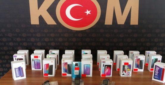 Gebze'de 26 adet kaçak telefon yakalandı!