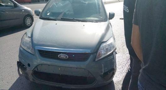 Gebze'de araç takla attı :1 yaralı