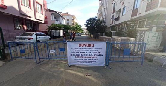 Gebze'de bir sokak karantinaya alındı!
