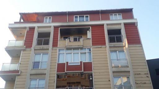 Gebze'de Çıkan Yangın Korkuttu!