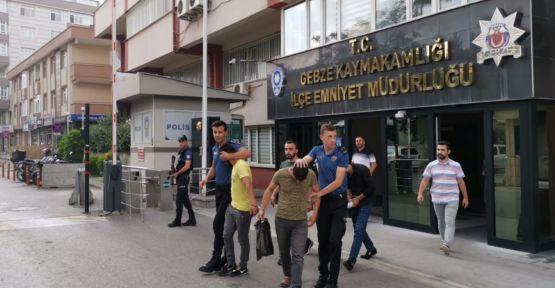 Gebze'de iş yerinden hırsızlık iddiası