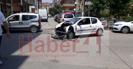 Gebze'de Kaza Geliyorum Dedi:2 Yaralı