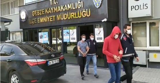 Gebze'de oto hırsızlığı yapan zanlı tutuklandı!