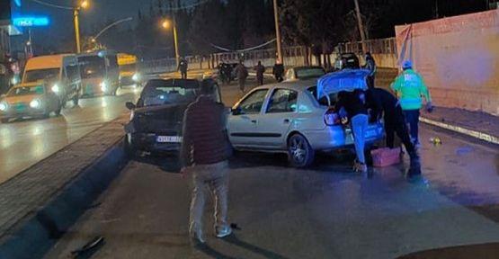 Gebze'de zincirleme kaza ;2 yaralı!