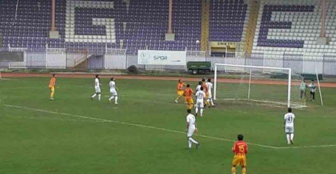 Gebzespor,Çorlu'yu kolay geçti: 2-0