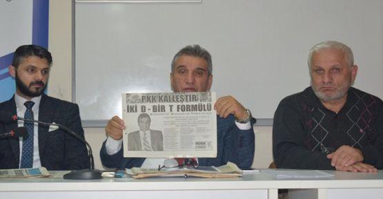 Gedikoğlu: Gebze'de toplanma alanı yok!