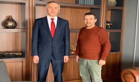 Gencer, Hukukçular Derneği Genel Başkanını ziyaret etti