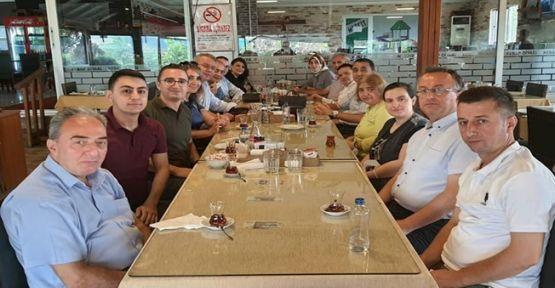 Hakim İlker Çetin'e veda yemeği