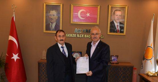 Halil İbrahim Kadıoğlu, AK Parti'den belediye başkan aday adayı oldu