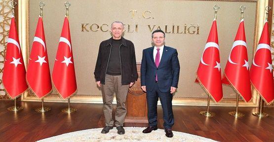 Hamdi Bilge Aktaş Hüseyin Aksoy'u Ziyaret Etti !
