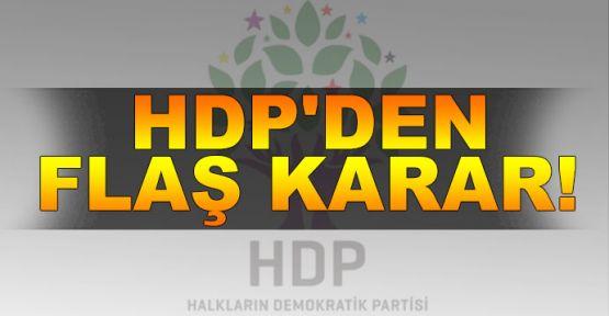 HDP Meclisten çekildi